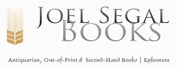 Joel Segal Books Banner  MOBILE- image